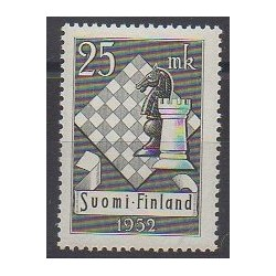 Finland - 1952 - Nb 395 - Chess