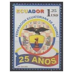 Équateur - 2005 - No 1819 - Échecs