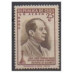 Cuba - 1951 - Nb PA45 - Chess