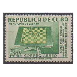 Cuba - 1951 - Nb PA43 - Chess
