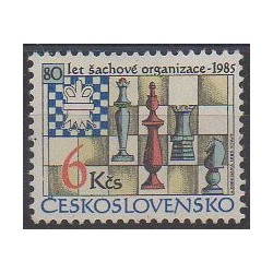 Tchécoslovaquie - 1985 - No 2626 - Échecs