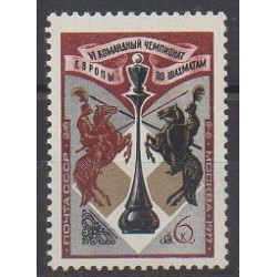 Russie - 1977 - No 4352 - Échecs