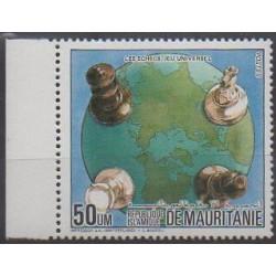 Mauritanie - 1984 - No 548 - Échecs