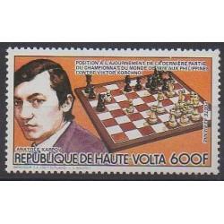 Haute-Volta - 1984 - No PA267 - Échecs