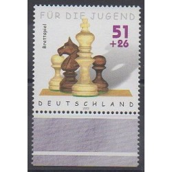 Allemagne - 2002 - No 2088 - Échecs