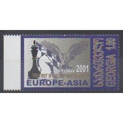 Géorgie - 2001 - No 298B - Échecs