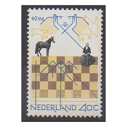 Pays-Bas - 1978 - No 1092 - Échecs