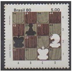 Brésil - 1980 - No 1451 - Échecs