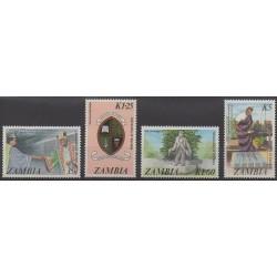 Zambia - 1987 - Nb 368/371