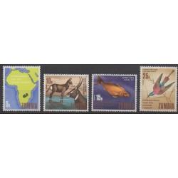 Zambia - 1969 - Nb 57/60 - Tourism