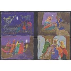 Zambia - 1977 - Nb 177/180 - Christmas