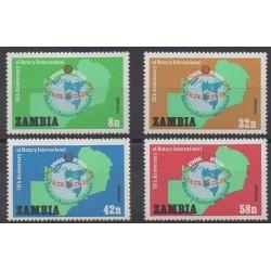 Zambie - 1980 - No 205/208 - Rotary ou Lions club