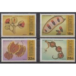 Zambie - 1981 - No 229/232 - Fruits ou légumes