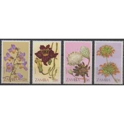 Zambie - 1983 - No 278/281 - Fleurs
