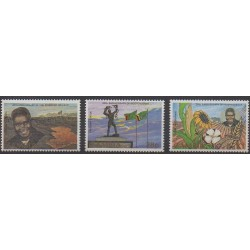 Zambia - 1984 - Nb 310/312 - Various Historics Themes