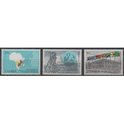 Zambia - 1985 - Nb 322/324