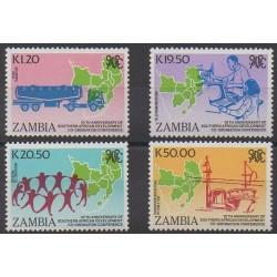 Zambia - 1990 - Nb 506/509