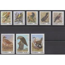 Zambia - 1990 - Nb 510/517 - Birds
