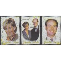 Zambie - 1999 - No 843/845 - Royauté - Principauté