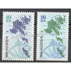 Féroé (Iles) - 1996 - No 296/297