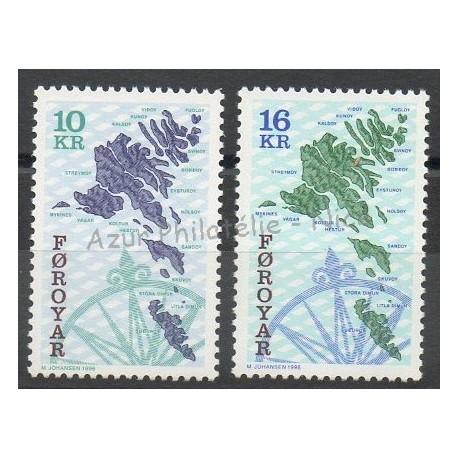 Faroe (Islands) - 1996 - Nb 296/297