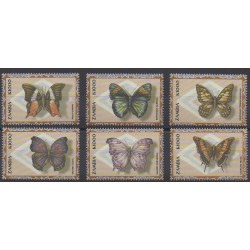 Zambie - 2000 - No 980/985 - Insectes