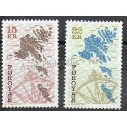 Féroé (Iles) - 2000 - No 369/370