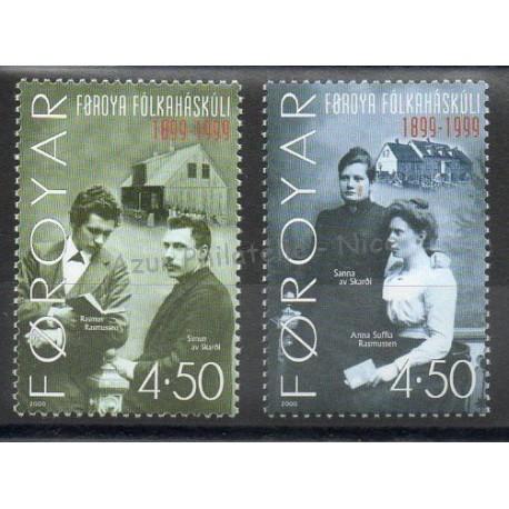 Faroe (Islands) - 2000 - Nb 375/376