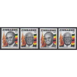 Zimbabwe - 2013 - Nb 740/743 - Celebrities