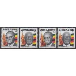 Zimbabwe - 2013 - No 740/743 - Célébrités