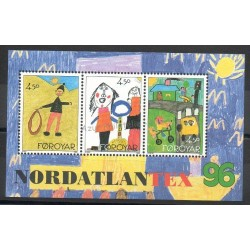 Faroe (Islands) - 1996- Nb BF 8 - Children's drawings