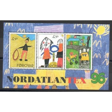 Faroe (Islands) - 1996- Nb BF 8 - Children's drawings