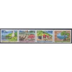 Wallis et Futuna - 2018 - No 897/900 - Environnement
