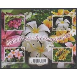 Wallis and Futuna - Blocks and sheets - 2018 - Nb F892 - Flowers