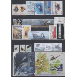 French Southern and Antarctic Territories - Complete year - 2018 - Nb 845/881