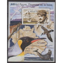 French Southern and Antarctic Lands - Blocks and sheets - 2018 - Nb F878 - Science