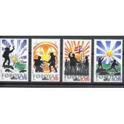 Féroé (Iles) - 2000- No 371/374 - Religion