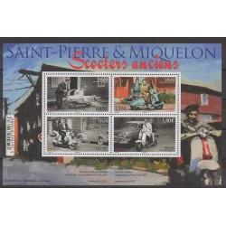 Saint-Pierre et Miquelon - Blocs et feuillets - 2018 - No F1205 - Motos
