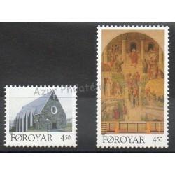 Faroe (Islands) - 1996- Nb 304/305 - Religion