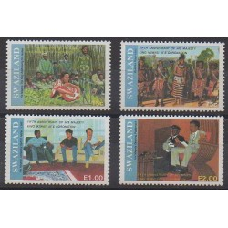 Swaziland - 1991 - Nb 582/585 - Royalty