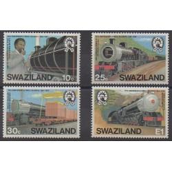 Swaziland - 1984 - No 464/467 - Chemins de fer