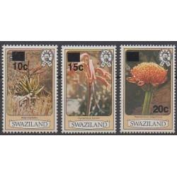Swaziland - 1984 - No 468/470 - Fleurs