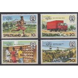 Swaziland - 1980 - Nb 336/339 - Postal Service