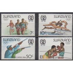 Swaziland - 1984 - Nb 456/459 - Summer Olympics