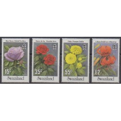 Swaziland - 1987 - Nb 529/532 - Roses