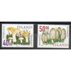 Islande - 2000- No 878/879 - Champignons