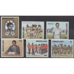 Swaziland - 1986 - No 501/506 - Royauté - Principauté