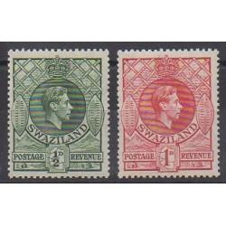 Swaziland - 1938 - Nb 27/28