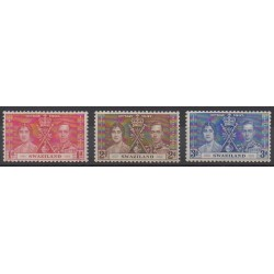 Swaziland - 1937 - Nb 24/26