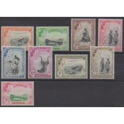 Swaziland - 1956 - Nb 55/63